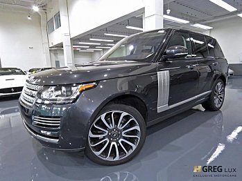 2017 land-rover Range Rover for sale 100985915