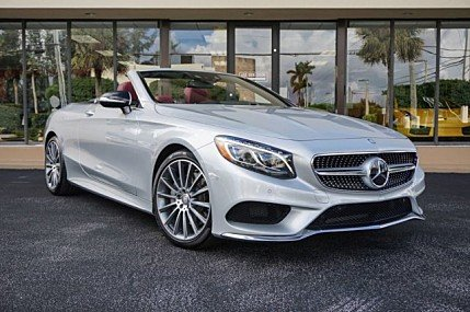 2017 mercedes-benz S550 Cabriolet for sale 101026053