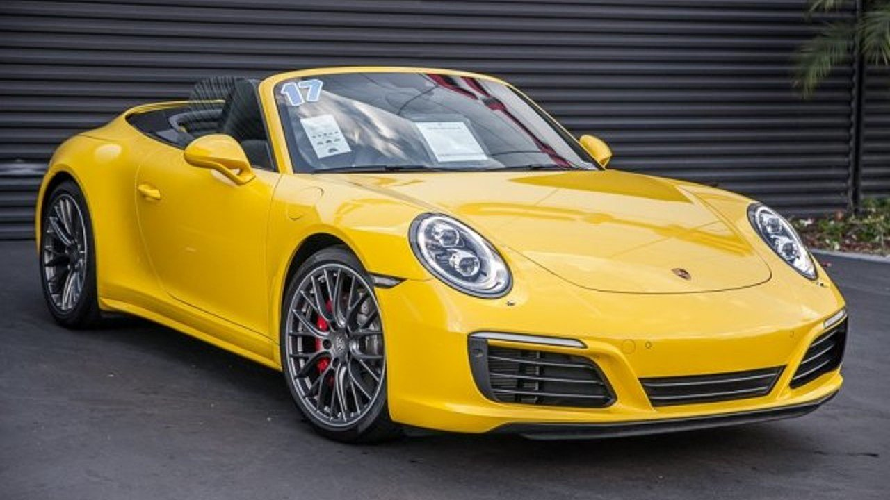 2017 porsche 911 Cabriolet for sale 101041872