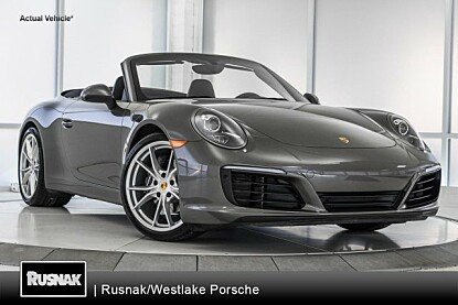 2017 porsche 911 Carrera Cabriolet for sale 101026484