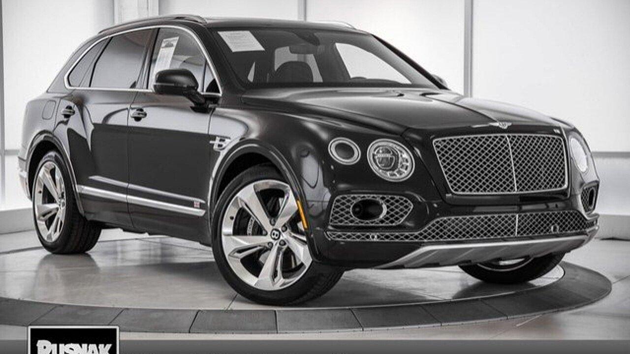 2018 Bentley Bentayga for sale 100971506