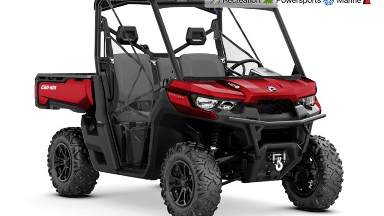 2018 Can-Am Defender for sale 200511187