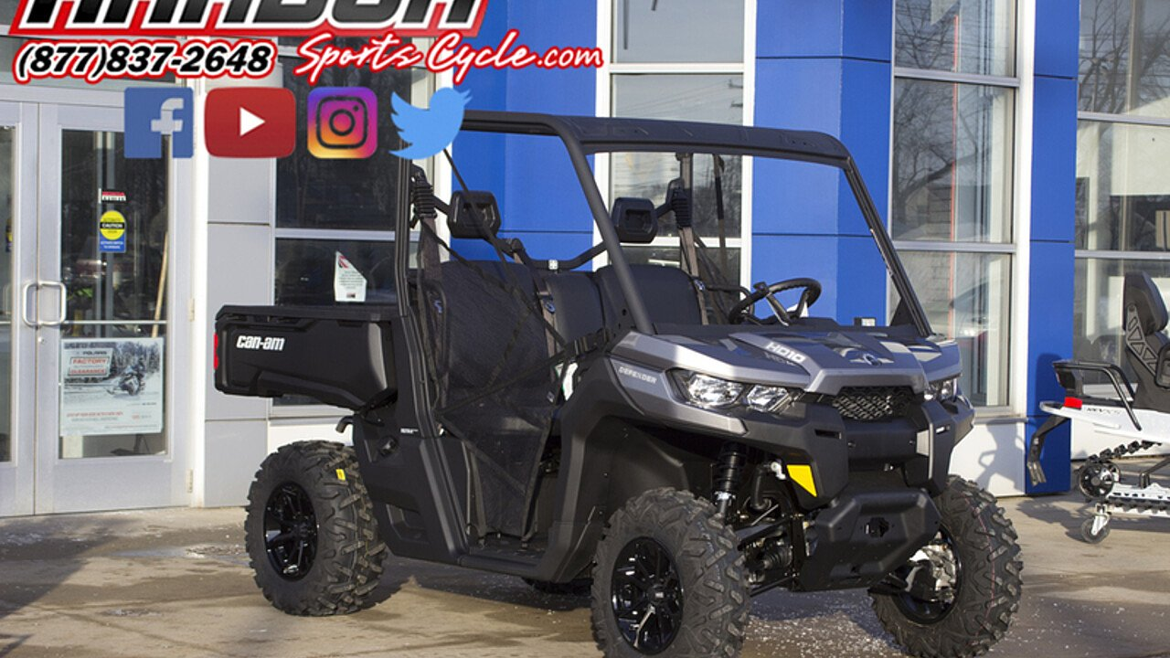 2018 Can-Am Defender for sale 200522235