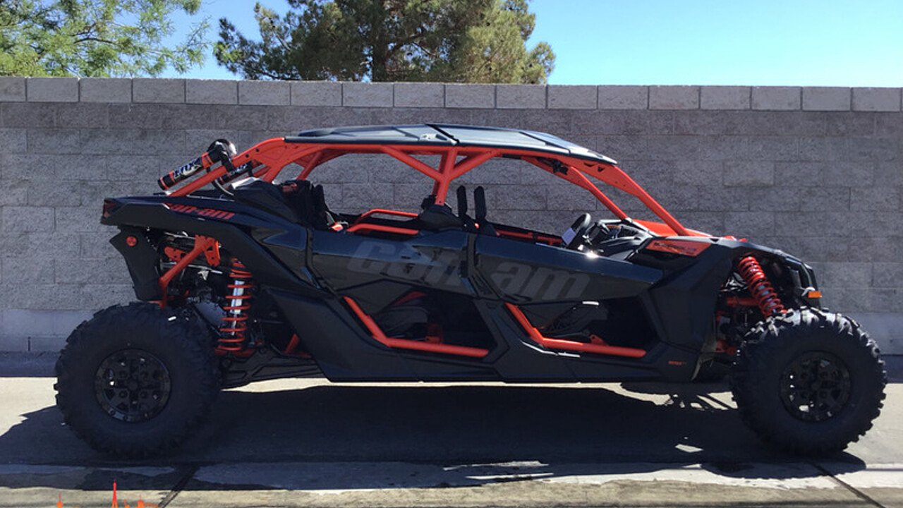 2018 Can-Am Maverick MAX 1000R for sale 200609977