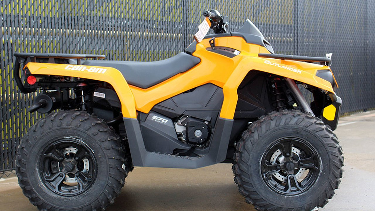 2018 Can-Am Outlander 570 for sale 200546736
