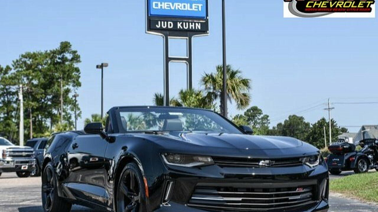 2018 Chevrolet Camaro LT Convertible for sale 100886069