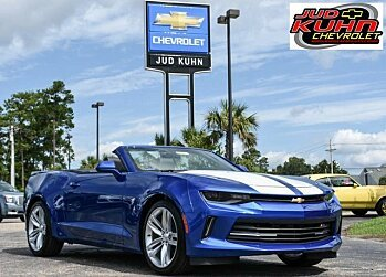 2018 Chevrolet Camaro LT Convertible for sale 100886070