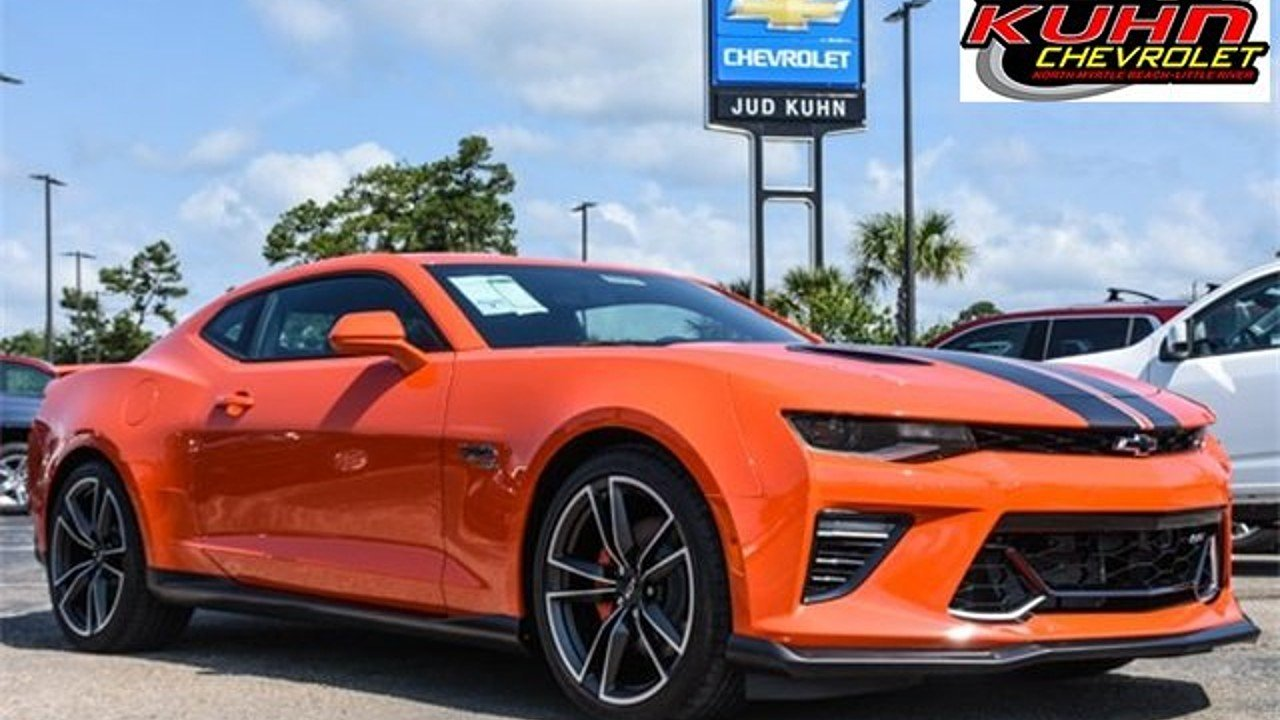 2018 Chevrolet Camaro SS Coupe for sale 100993581