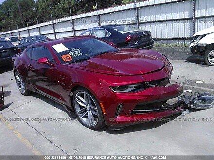 2018 Chevrolet Camaro for sale 101015263