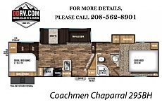 2018 Coachmen Chaparral Lite for sale 300157239