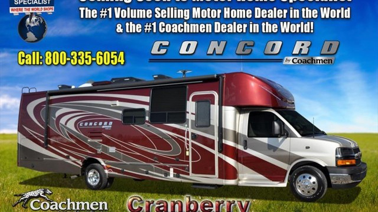 2018 Coachmen Concord for sale 300137254