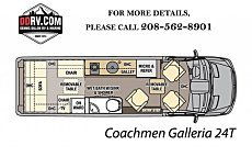 2018 Coachmen Galleria for sale 300140634
