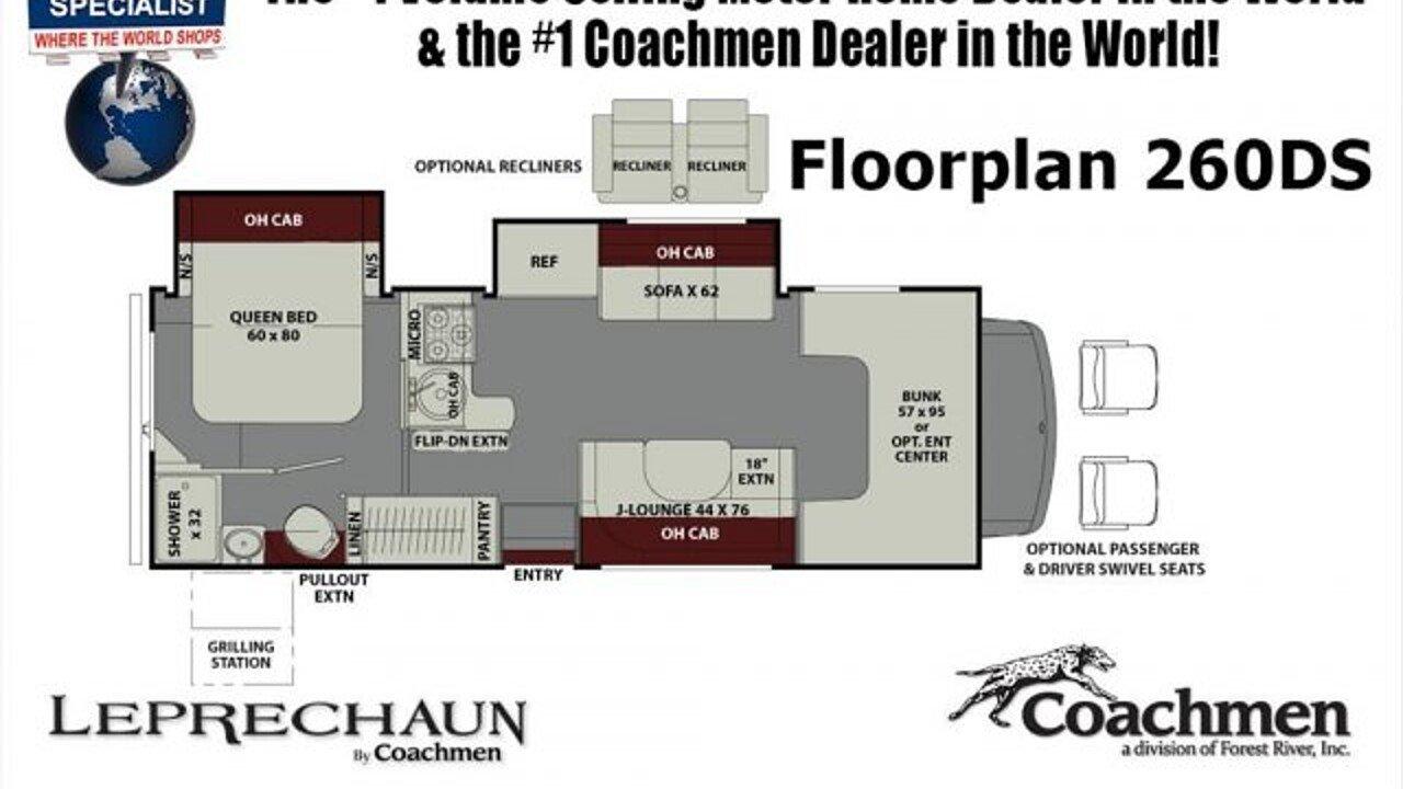 2018 Coachmen Leprechaun for sale 300147943