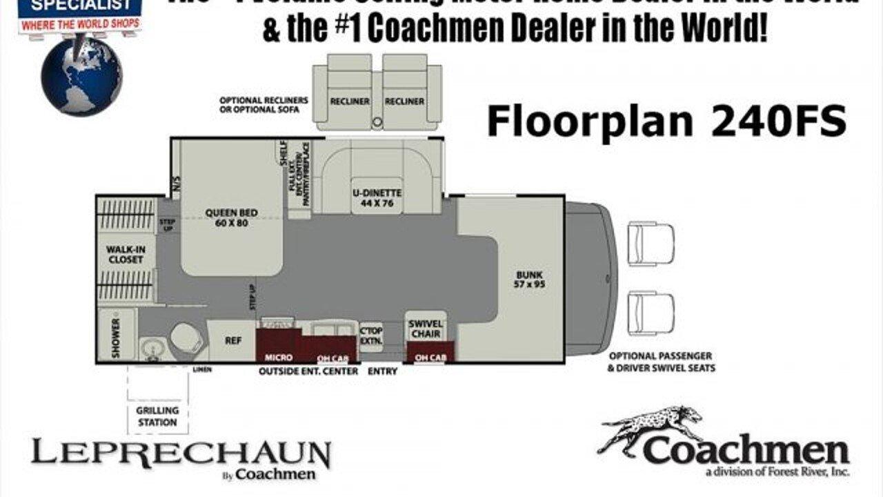 2018 Coachmen Leprechaun for sale 300150190