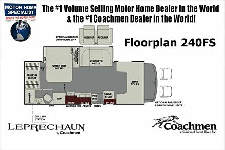 2018 Coachmen Leprechaun for sale 300150190