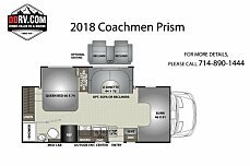 2018 Coachmen Prism for sale 300149751