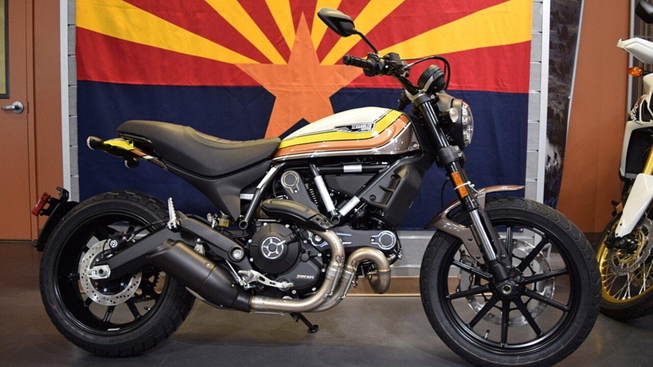 2018 Ducati Scrambler for sale 200525206