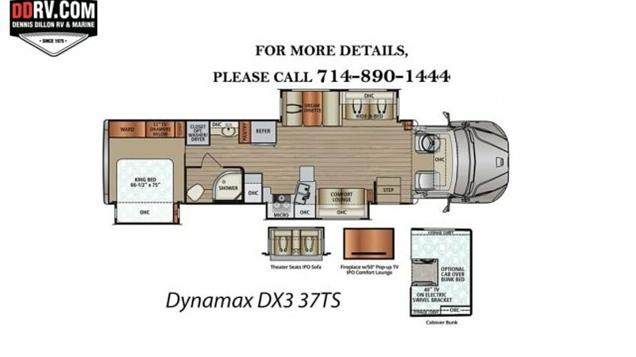 2018 Dynamax DX3 for sale 300148236