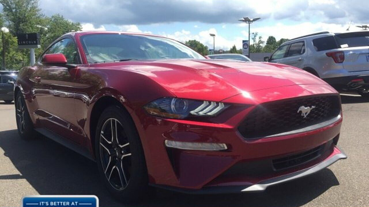 2018 Ford Mustang Coupe for sale near Doylestown, Pennsylvania 18901 ...