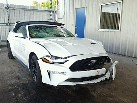 2018 Ford Mustang for sale 101010745