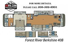 2018 Forest River Berkshire for sale 300148108