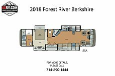 2018 Forest River Berkshire for sale 300154767