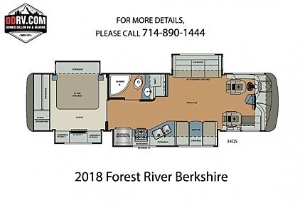 2018 Forest River Berkshire for sale 300157934