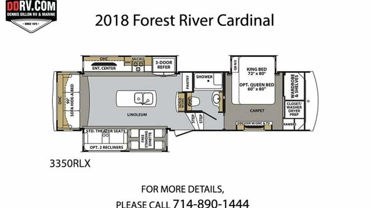 2018 Forest River Cardinal for sale 300159213
