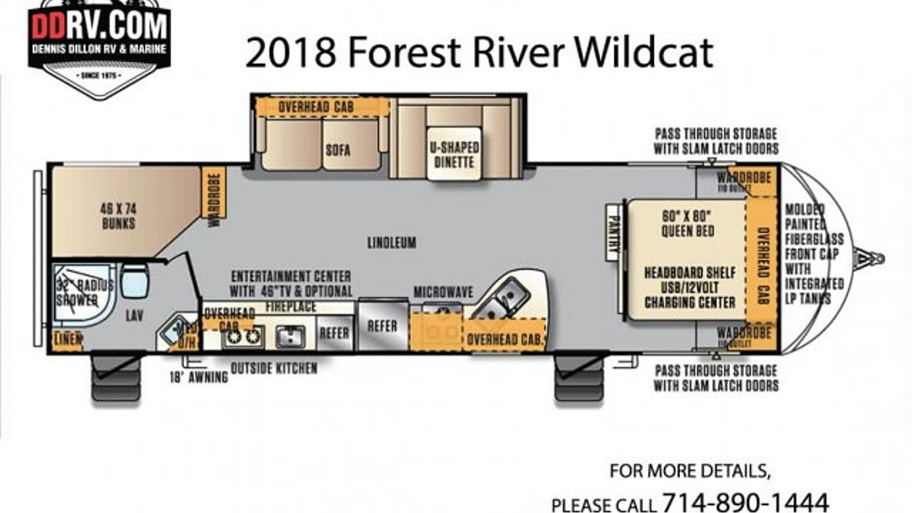 2018 Forest River Wildcat for sale 300145544
