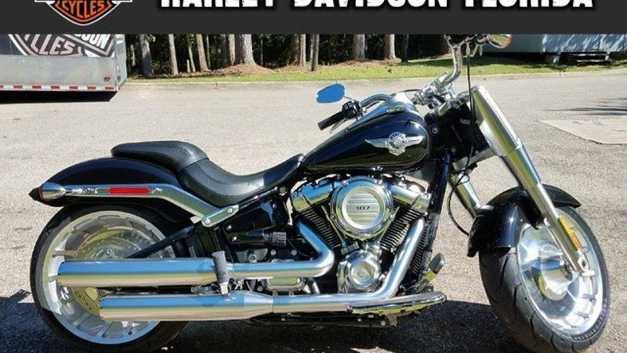 2018 harley davidson softail fat boy for sale near tallahassee florida 32303 motorcycles on. Black Bedroom Furniture Sets. Home Design Ideas