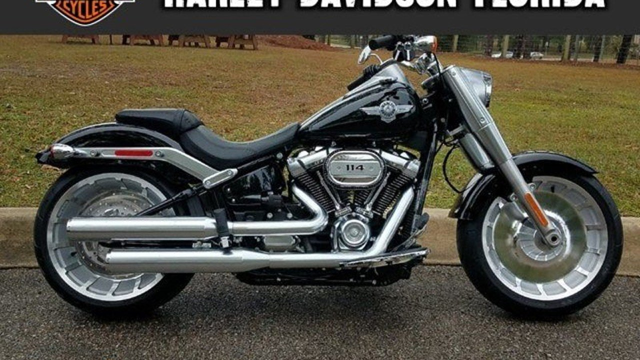 2018 harley davidson softail fat boy 114 for sale near tallahassee florida 32303 motorcycles. Black Bedroom Furniture Sets. Home Design Ideas