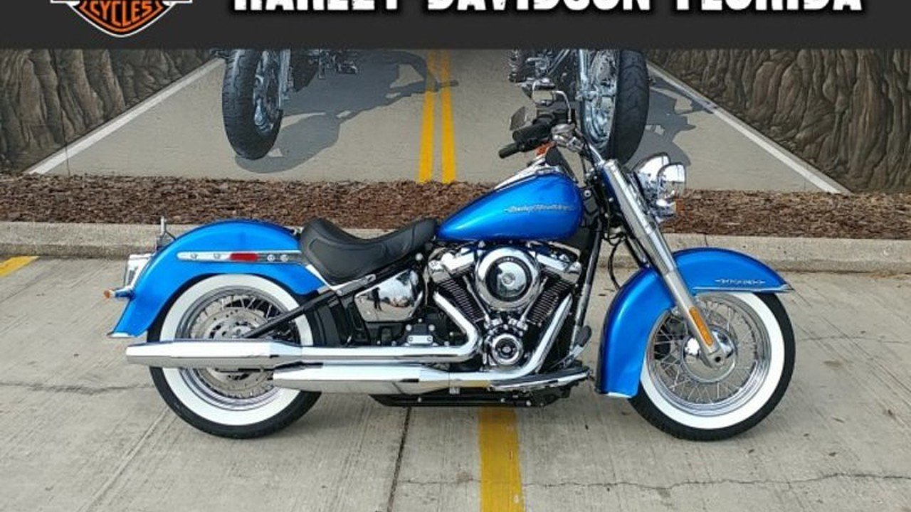 2018 Harley-Davidson Softail Deluxe for sale 200525282
