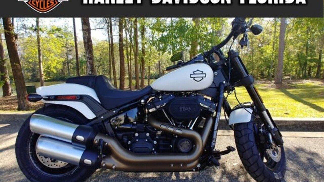 2018 Harley-Davidson Softail Fat Bob 114 for sale 200545458
