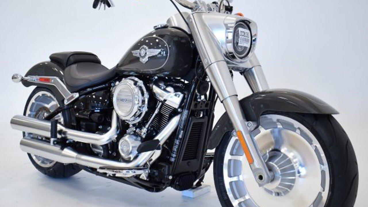 2018 Harley-Davidson Softail Fat Boy for sale 200593048