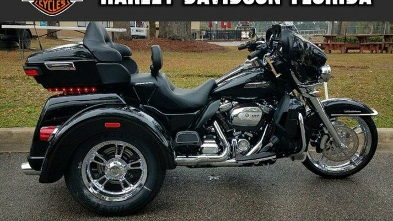 2018 harley davidson trike tri glide ultra for sale near tallahassee florida 32303. Black Bedroom Furniture Sets. Home Design Ideas