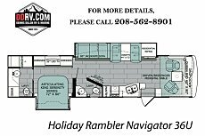 2018 Holiday Rambler Navigator for sale 300158249