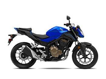 2018 Honda CB500F for sale 200530683