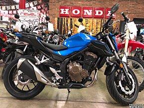 2018 Honda CB500F for sale 200529119
