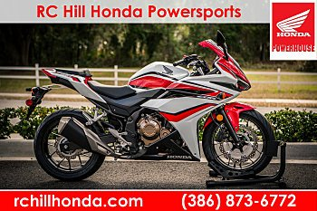 2018 Honda CBR500R ABS for sale 200542001
