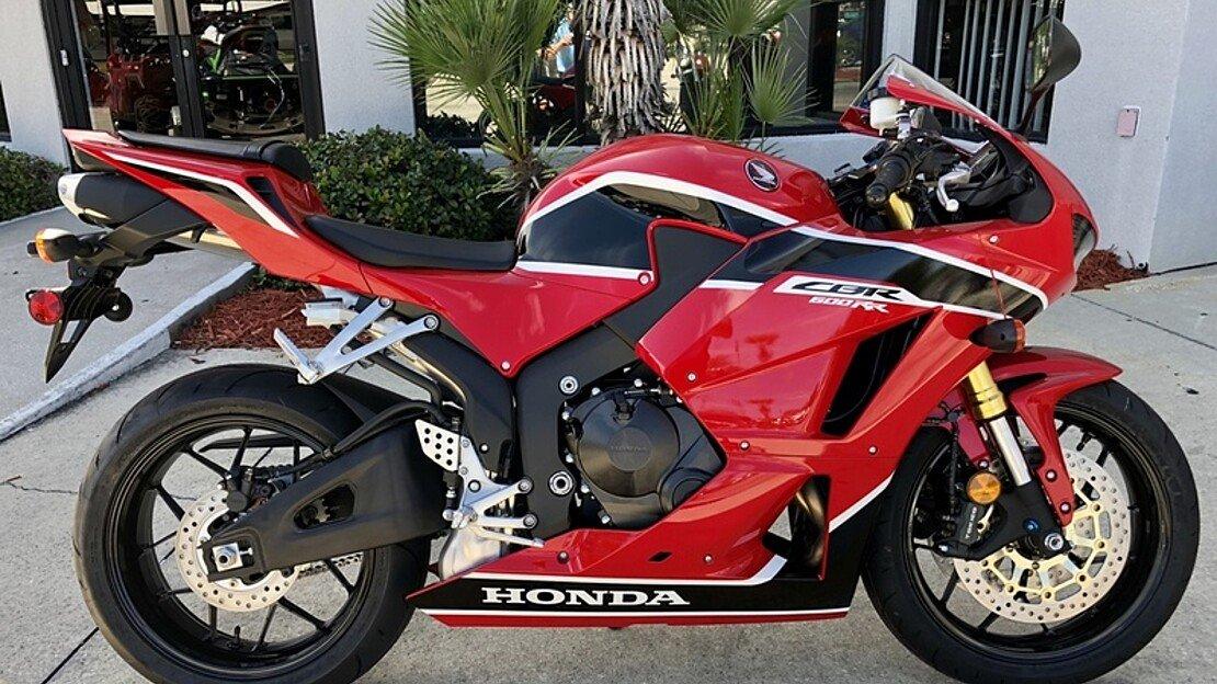 2018 Honda CBR600RR for sale 200609584