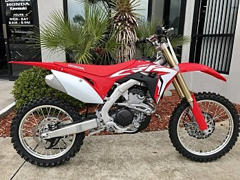 2018 Honda CRF250R for sale 200571106