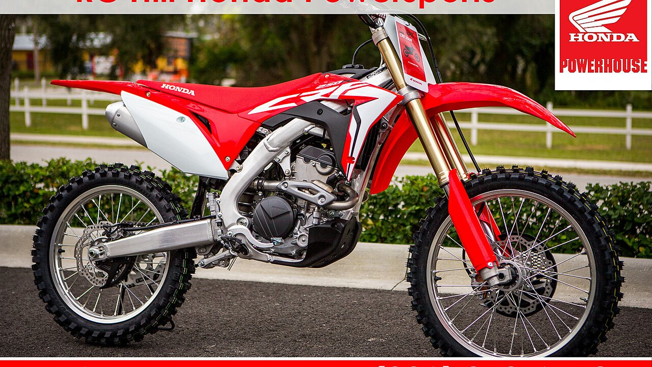 2018 Honda CRF250R for sale 200580106