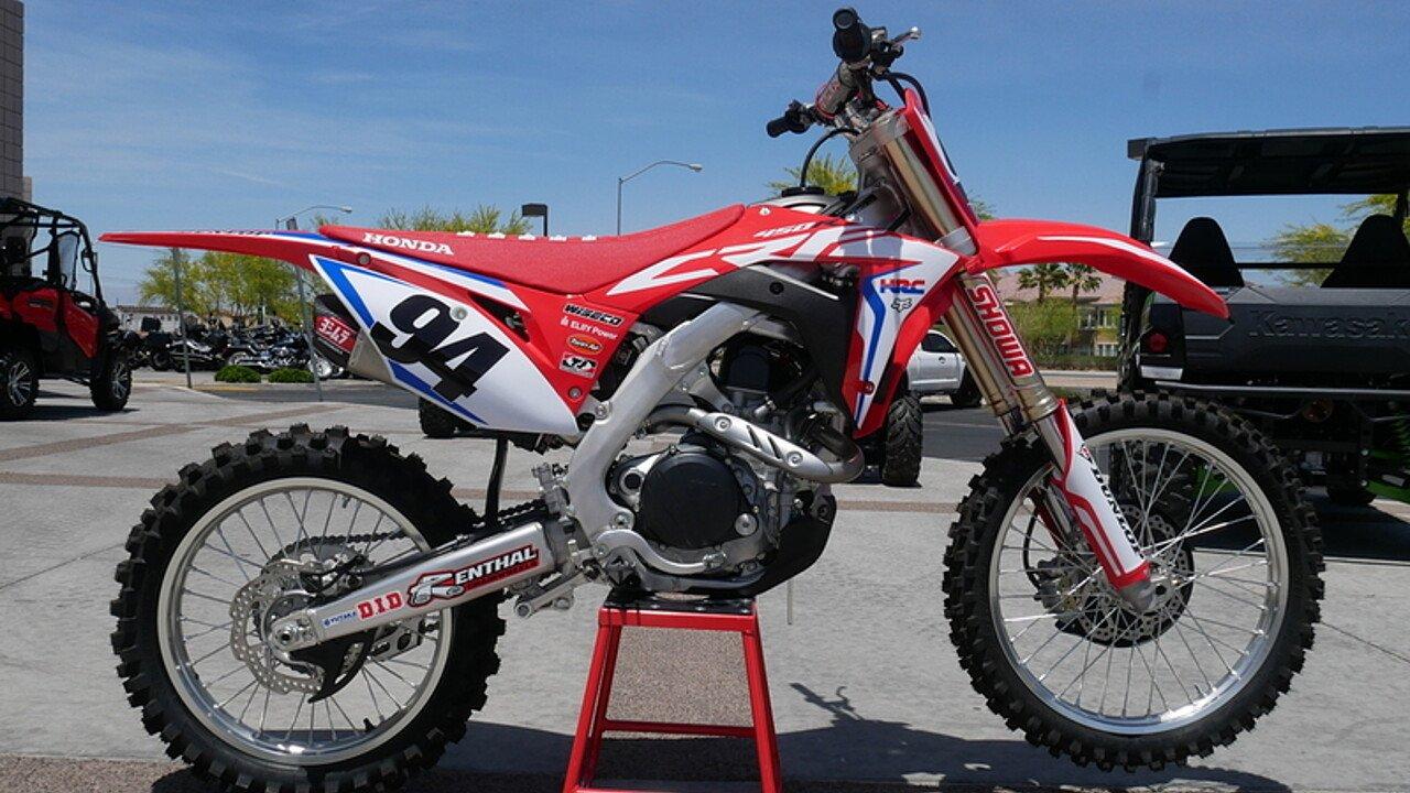 2018 Honda CRF450R for sale 200491813