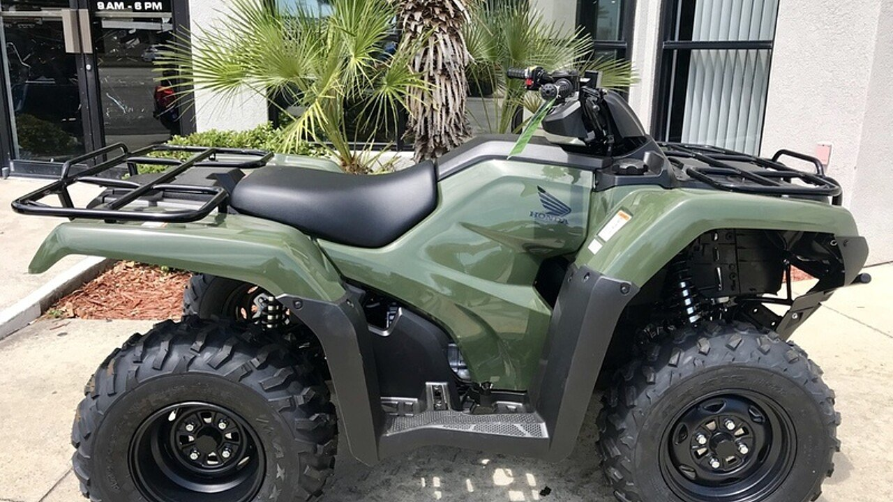 2018 Honda FourTrax Rancher for sale 200571117