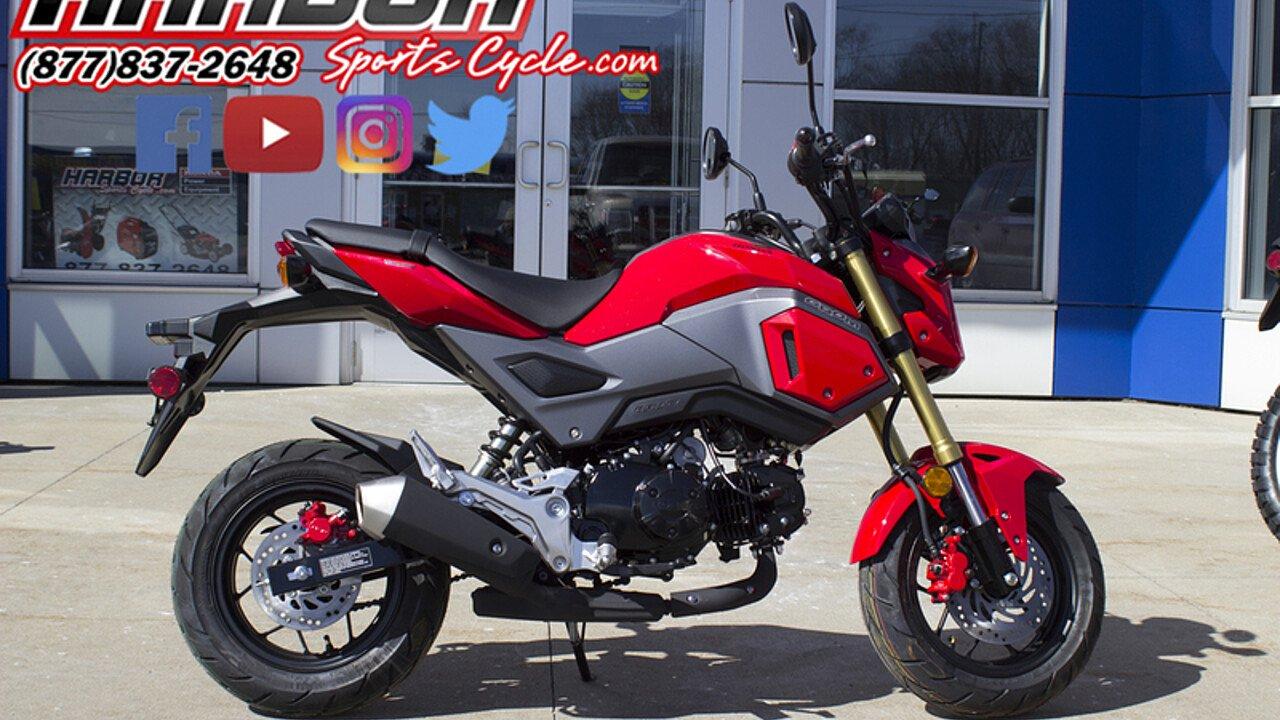2018 Honda Grom for sale 200522246