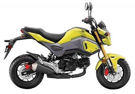 2018 Honda Grom for sale 200492025