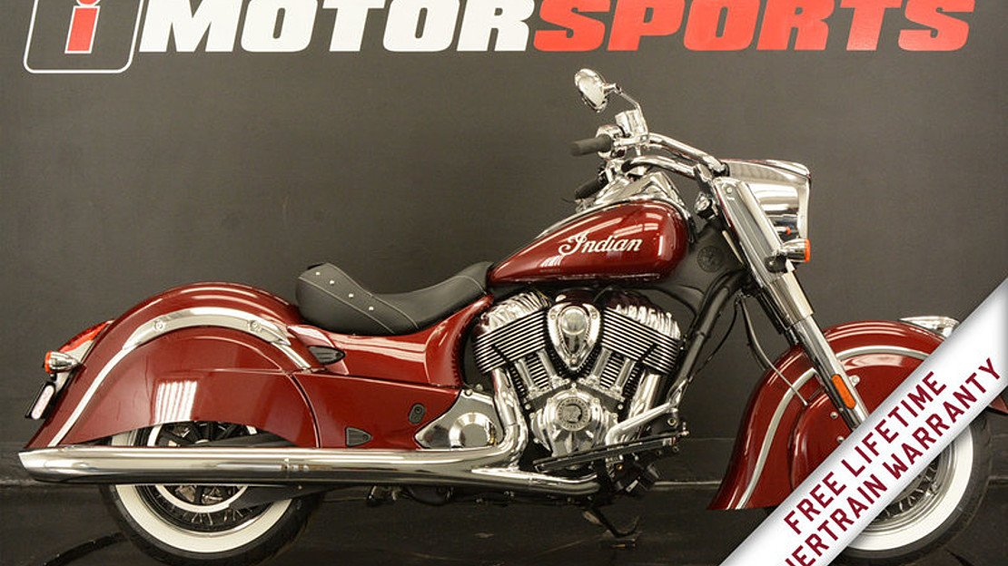 2018 Indian Chief for sale 200560131