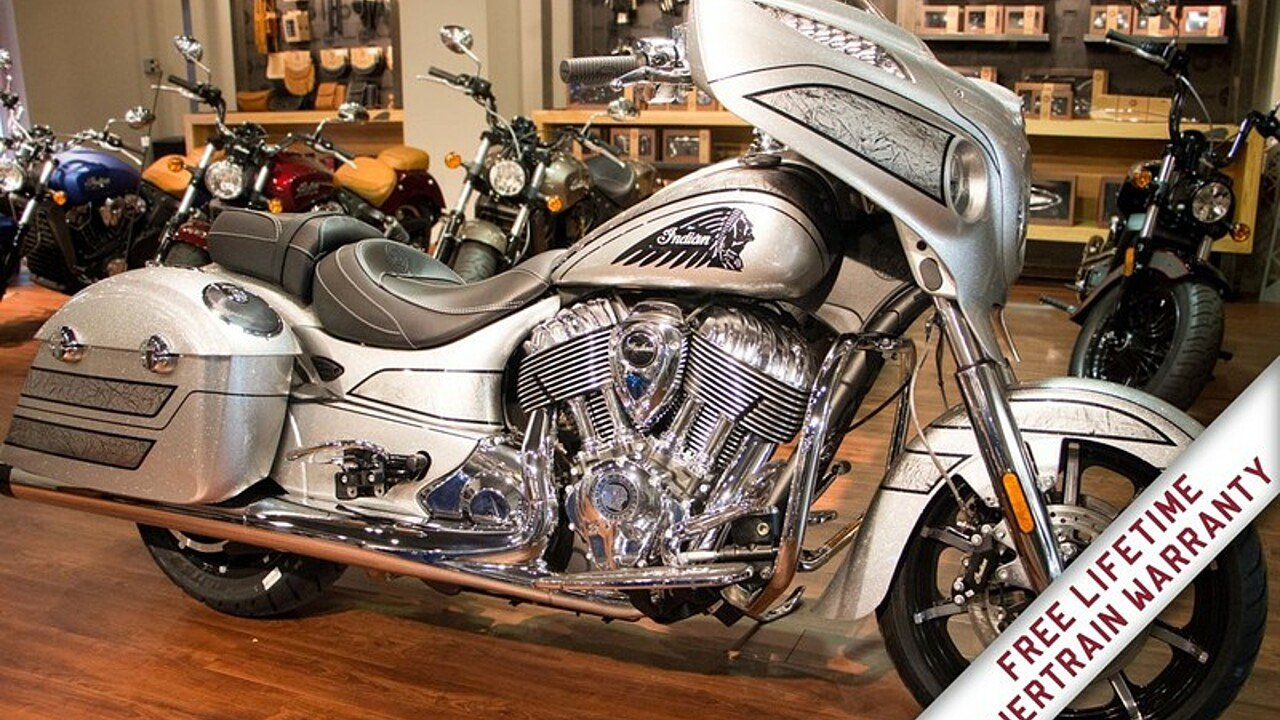 2018 Indian Chieftain Elite Limited Edition w/ ABS for sale 200582824
