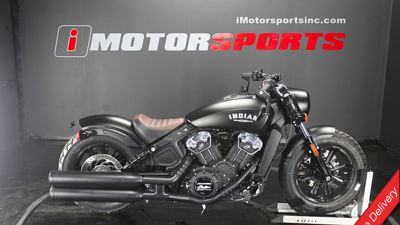 2018 Indian Scout Bobber ABS for sale 200595416
