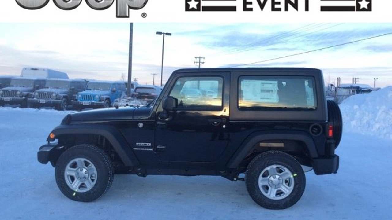 2018 Jeep Wrangler JK 4WD Sport for sale 100928786